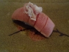 Seared maguro with myoga
